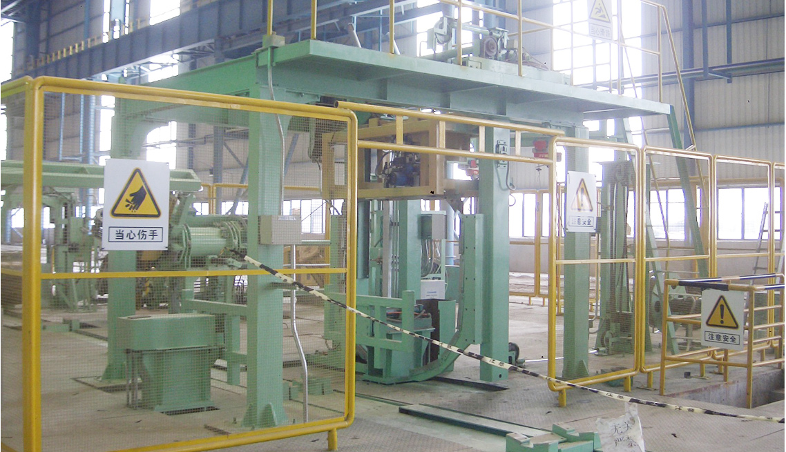cold roll steel strapping equipment, Circumferential bundling,strapping machinery