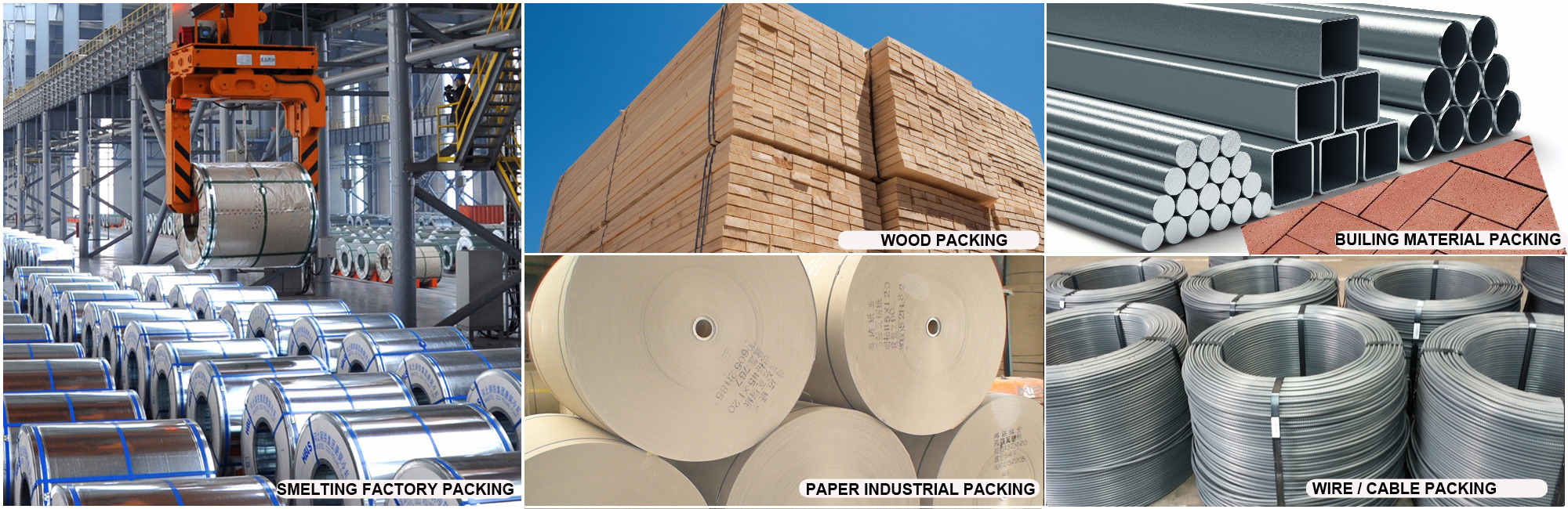 industrial packing steel strapping